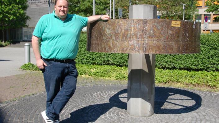 Brunnen auf dem Konrad-Adenauer-Platz