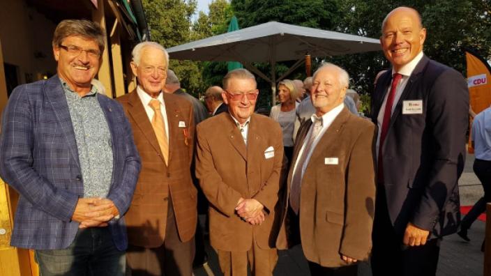 CDU-Rhein-Erft ehrt langjährige Mitglieder