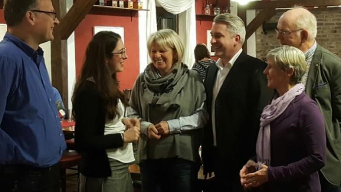 Offene Bürgersprechstunde mit Romina Plonsker MdL am 18.06.2018 in Bergheim